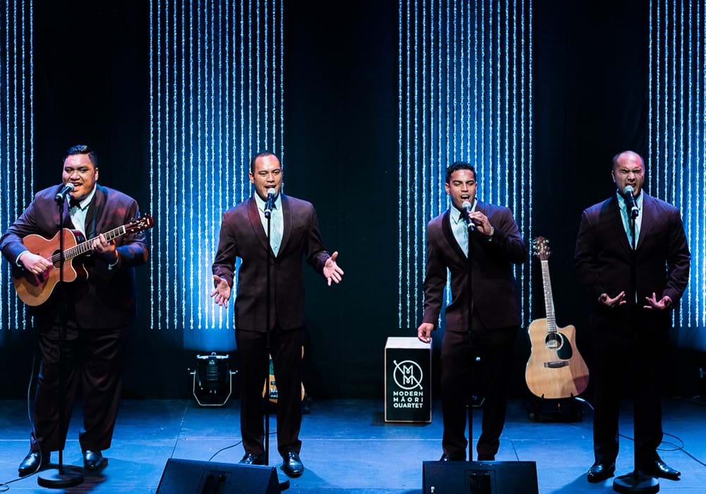 Modern Maori Quartet: That's Us! gallery image